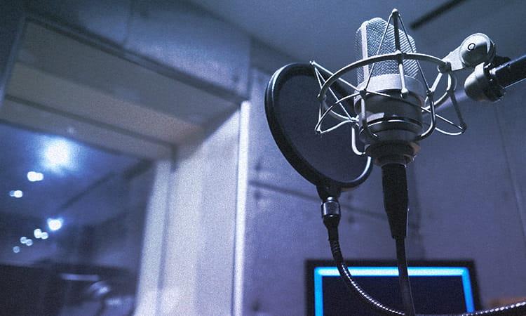 写真:録音スタジオ